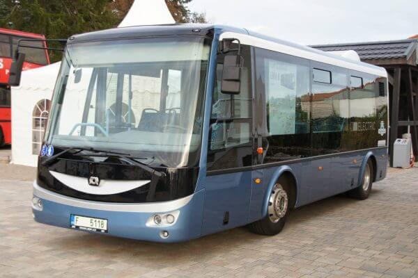 Elektrobus SOR EBN 8 - Europatour-Stop in Putlitz