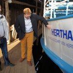 Gründungsschiff von Hertha BSC mit solider Substanz - Prignitzer Leasing AG