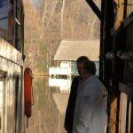 Gespräch am Hertha-Schiff - Prignitzer Leasing AG