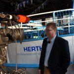 Prignitzer Leasing AG - Vorstand Thomas Flemming im Interview beim ebb-Fernsehdreh