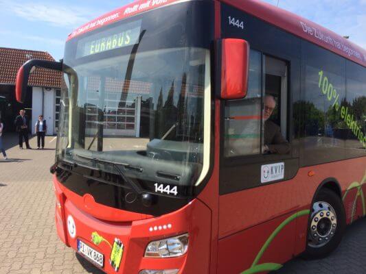 KViP-Elektrobus der neuesten Generation