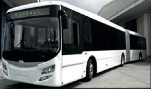 e-Bus Elektrobus Gelenkbus