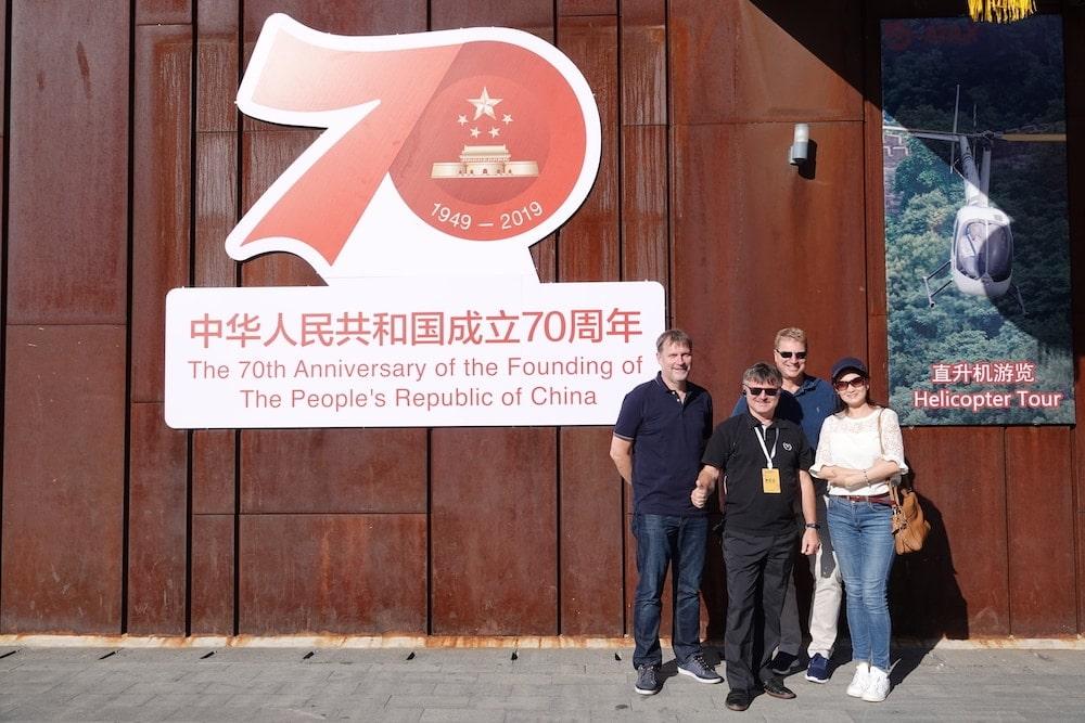 Zutritt zur Chinesischen Mauer
